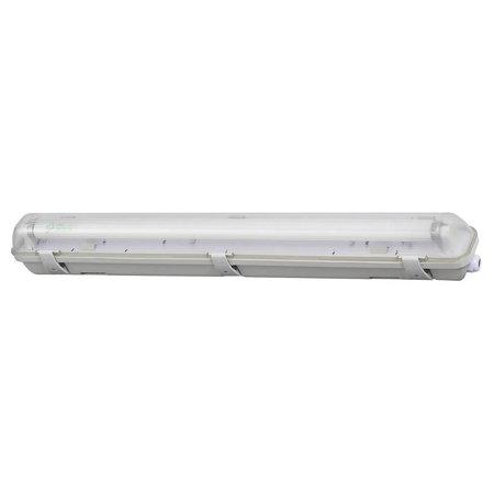 Profile LED TL fixture 66 cm including LED lamp 4000K