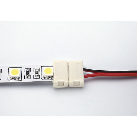 Unibright voedingsconnector voor LEDstrip 10mm