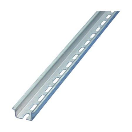Standaard Dinrail, lengte 1 meter, 7.5mm hoog