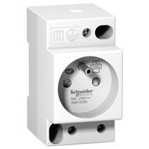 DIN rail socket, 16A -230V