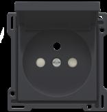 Niko Afwerkingsset voor Niko stopcontact met klapdeksel, kleur te kiezen