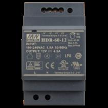 12VDC DIN rail power supply 60 Watt