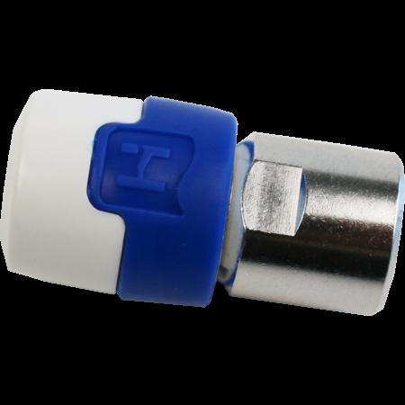 Hirchmann Professionele F-Connector, push-on