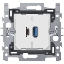 USB-A en USB-C smartlader, 420-00512