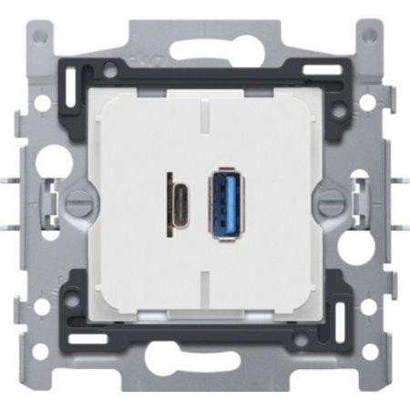Niko Niko USB-A en USB-C smartlader, 420-00512