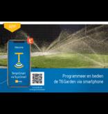 Bedien de T6 garden via smartphone
