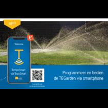 T6 Garden via smartphone
