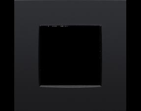 Intense mat zwart