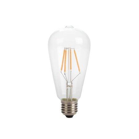 Retro Filament light bulb ST64 - 4W - intense warm white