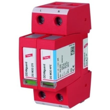 Dehn Surge protection for monophase TT and TN network