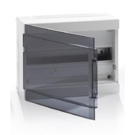 ABB Industrial Fix-O-Rail 150 distribution box, 1 row with 18 modules