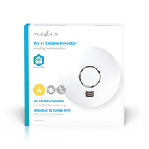 Smart smoke detector on WiFi
