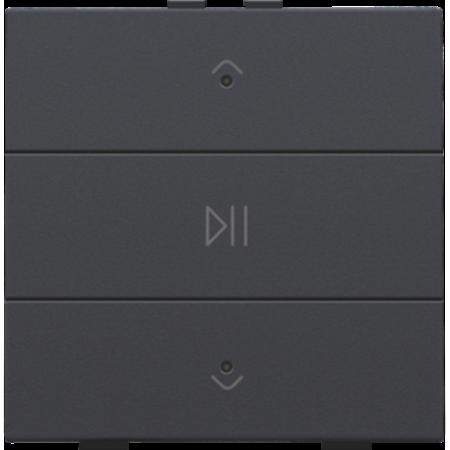 Niko Enkelvoudige audiobediening met leds voor Niko Home Control