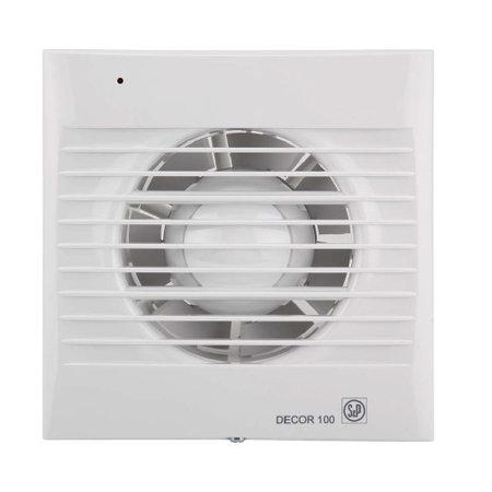 S&P Badkamer ventilator 100-300 m3, met timer