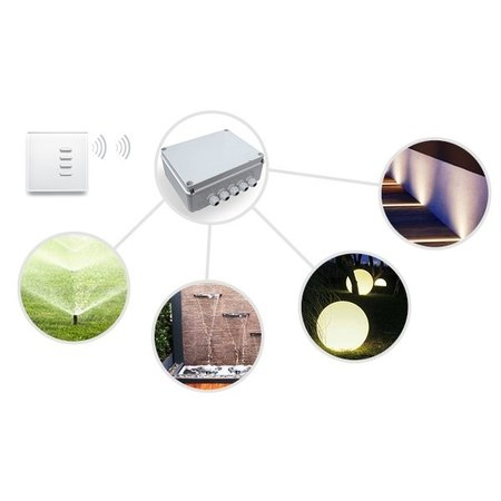 Teleco Teleco Garden Pro4, afstandsbediening van 4 kringen