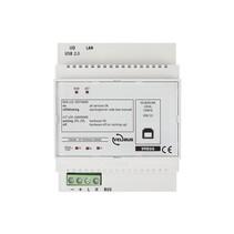 Configuratiemodule met USB en IP interface