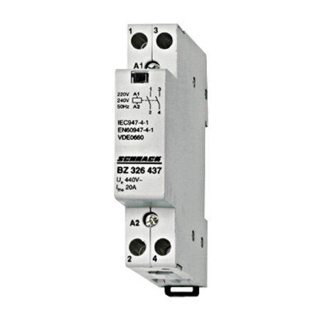schrack Vermogenscontactor 230V -20Amp -2NO contacten