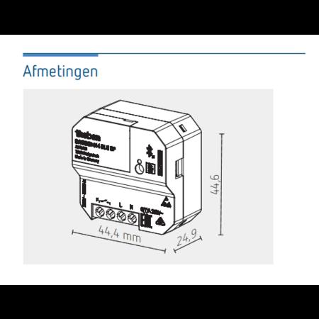 Theben Programmeerbare thermostaat RAM814 BLE UP