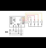 Velbus Velbus  4-kanaals drukknopinterface VMB4PB