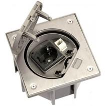 Waterdicht vloerstopcontact en RJ45 UTP