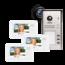Entrya Videfoon voor 3 appartementen