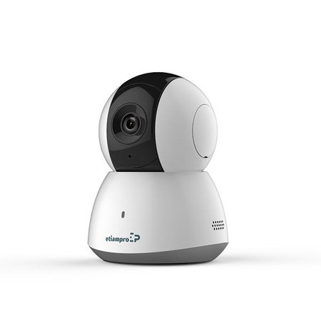 etiampro Mini IP camera, via Wifim PAN-TILT functie