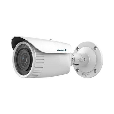etiampro Bullet type IP camera met varifocale lens