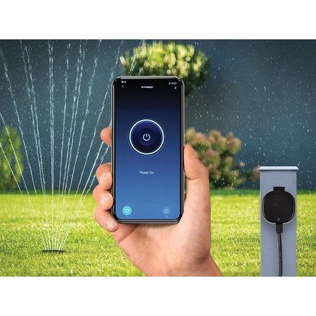 Smart Wifi stekker, voor gebruik buitenhuis - Tuya app