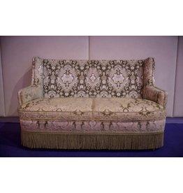 Retro Möbel Cremeweiße Couch