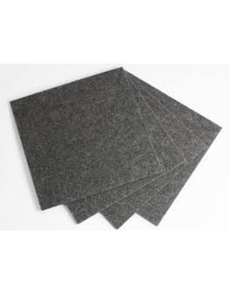 Teppichplatinen grau 2mX1m