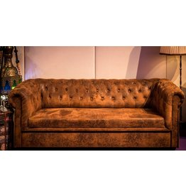 Retro Möbel Chesterfield Couch