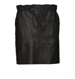 NORR JOLINE LEATHER SKIRT