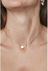 fashionoligy mini love nacklace gold