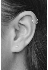 fashionoligy Tiny bar earpins gold 5mm