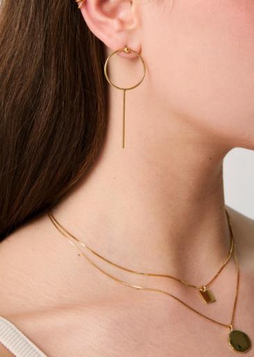 fashionoligy Solar Earpins Gold OS