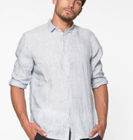 Circle of trust Calvin linen blurry blue