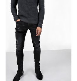 Cropped loose tapered jeans voor heren Jimmy Oil Stormy