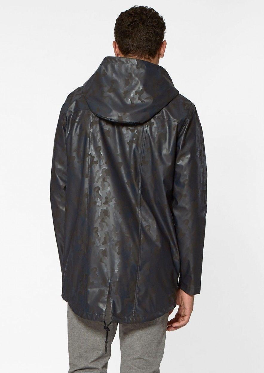 Circle of trust august raincoat camo