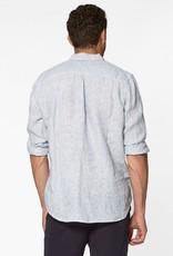 Circle of trust Calvin shirt linen blurry blue