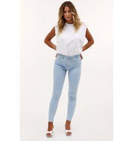 Loavies Endless slim waist - blue bleached