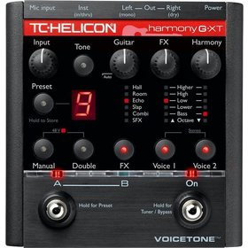 TC Helicon - X2C - CREA VOICE TONE HARMONY-G XT