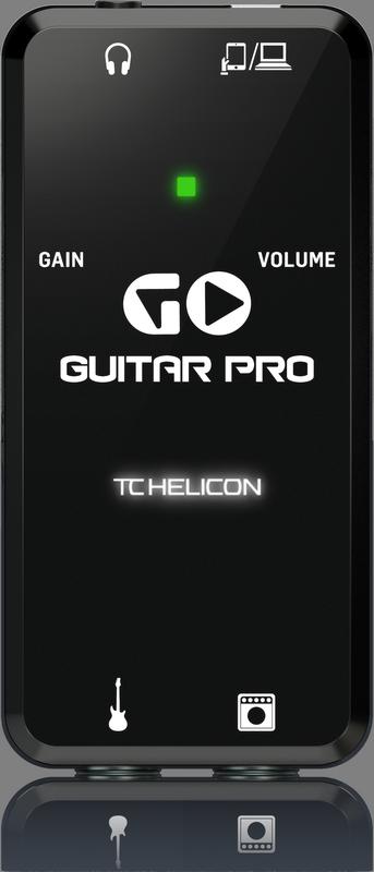 TC Helicon - CREA GO GUITAR PRO