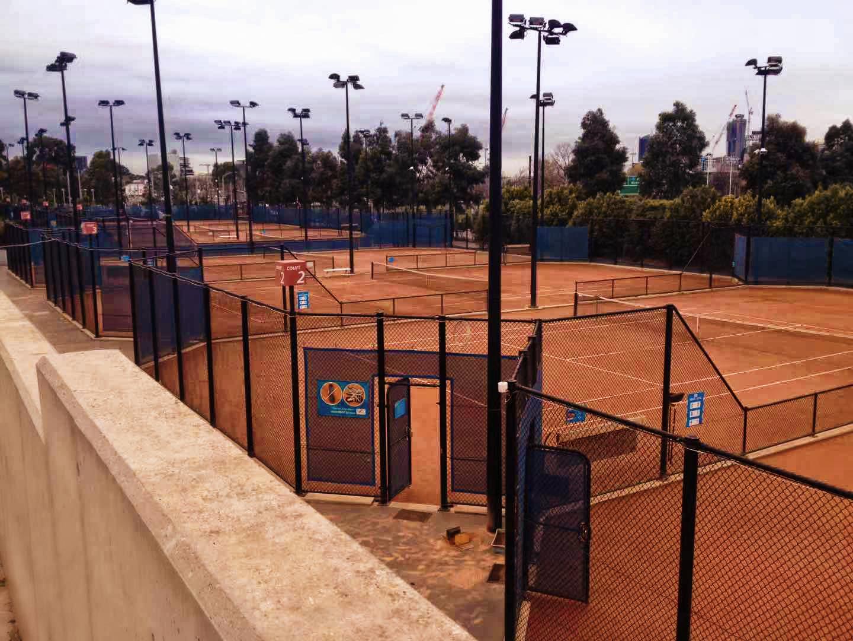 Tennis court in Melbourne