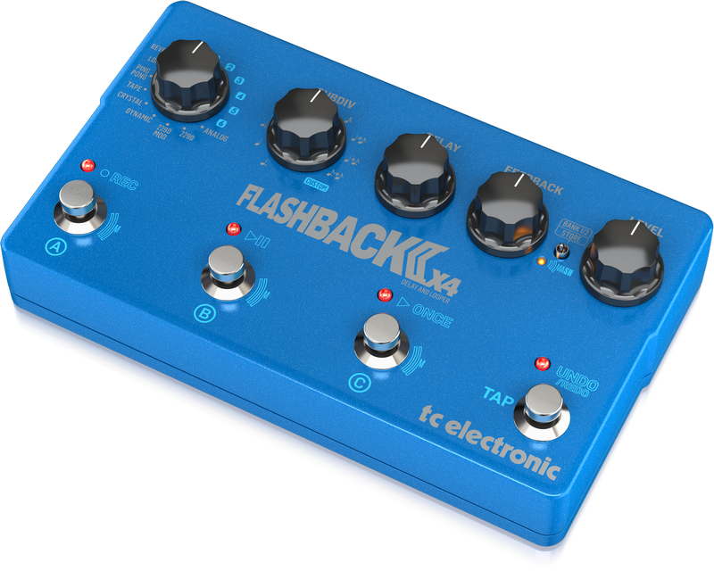 TC Electronic - CREA FLASHBACK 2 X4 DELAY-EU