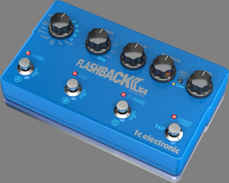 TC Electronic - X2C - CREA FLASHBACK 2 X4 DELAY-UK