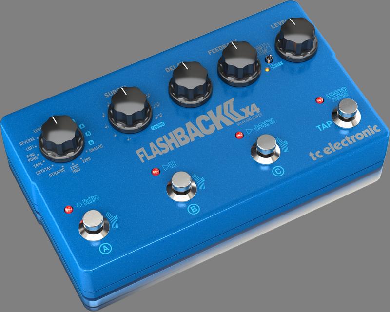 TC Electronic - CREA FLASHBACK 2 X4 DELAY-UK