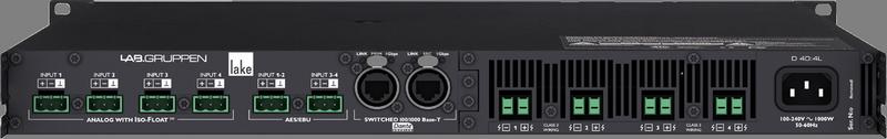 Lab Gruppen - X2B - ENTE D 40:4L Lake Amp 4x1000W/4ohm CN