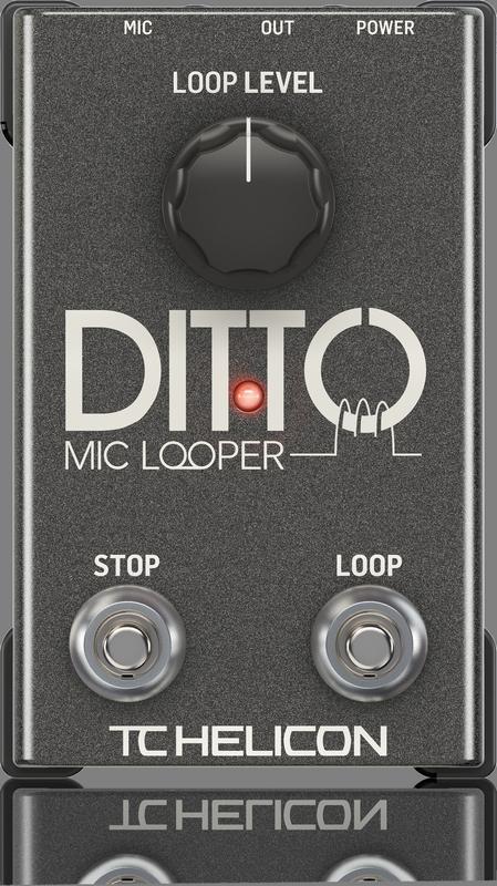TC Electronic - CREA DITTO MIC LOOPER-EU
