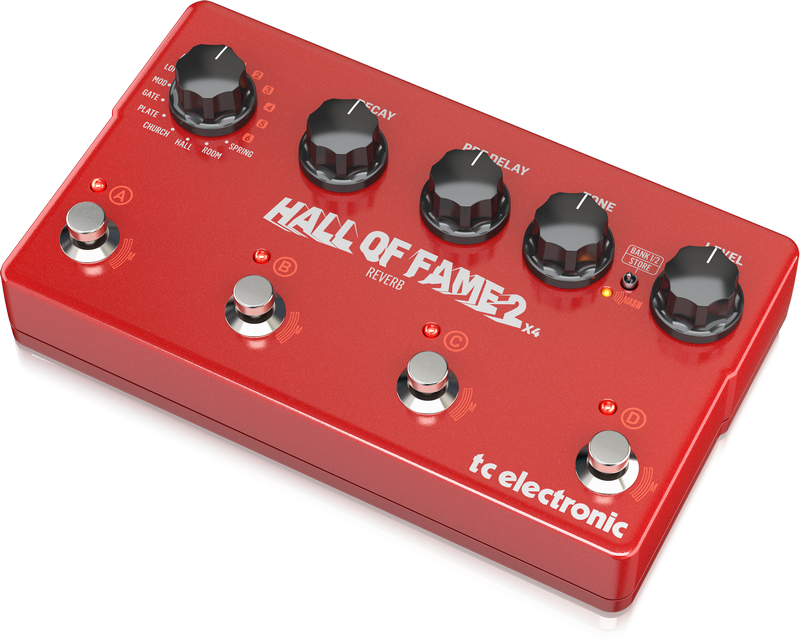 TC Electronic - CREA HALL OF FAME 2 X4 REVERB-EU