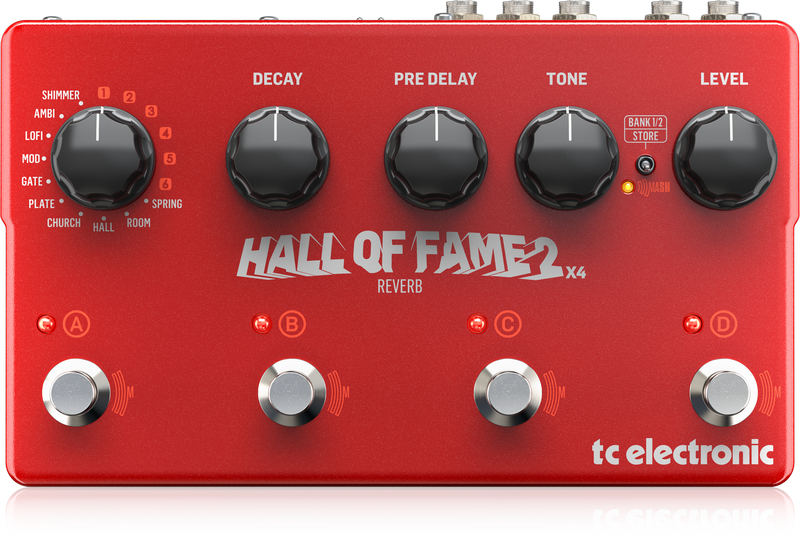 TC Electronic - X2C - CREA HALL OF FAME 2 X4 REVERB-UK